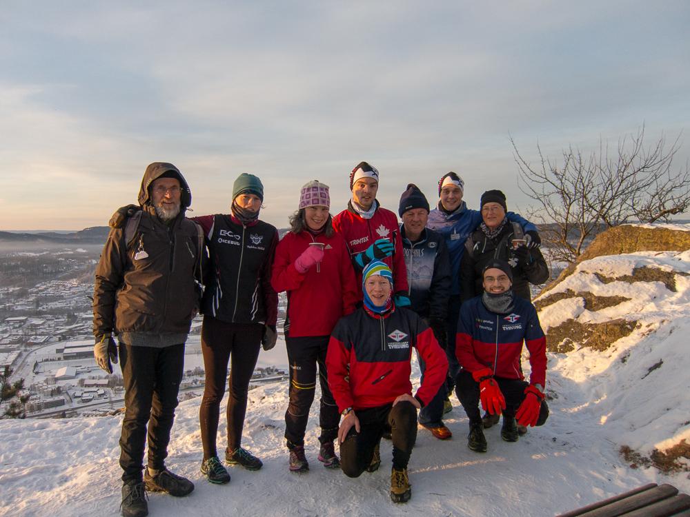 Arrangører og deltagere 2014. Chris, Louise, Zsuzsa, Mathias, Olav, Anders, Margo; Henning, Thomas